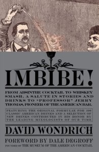 Imbibe! - David Wondrich