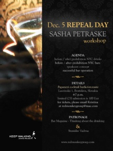 Repeal Day Sasha Petraske
