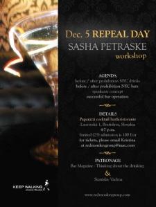Repeal Day Sasha Petraske