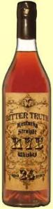 The Bitter Truth Kentucky Straight Rye Whiskey