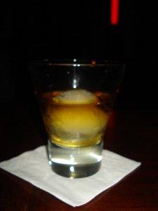 Whiskey na kuli lodowej