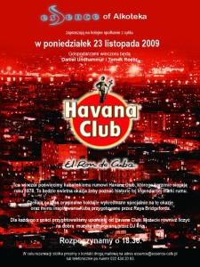 esSence of alkoteka z Havana Club