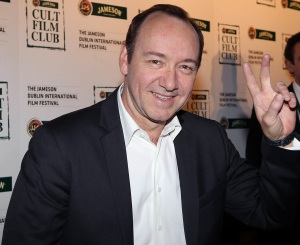 Kevin Spacey at the 2011 Jameson Cult Film in Dublin