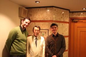Marcin, Mr. Kazuo Uyeda i Radek