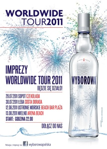 Wyborowa Worldwide Tour 2011