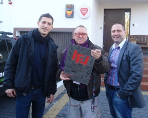 Marcin Cebula, Jerzy Owsiak i Grzegorz Zięba