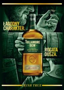 Nowa butelka Tullamore D.E.W.